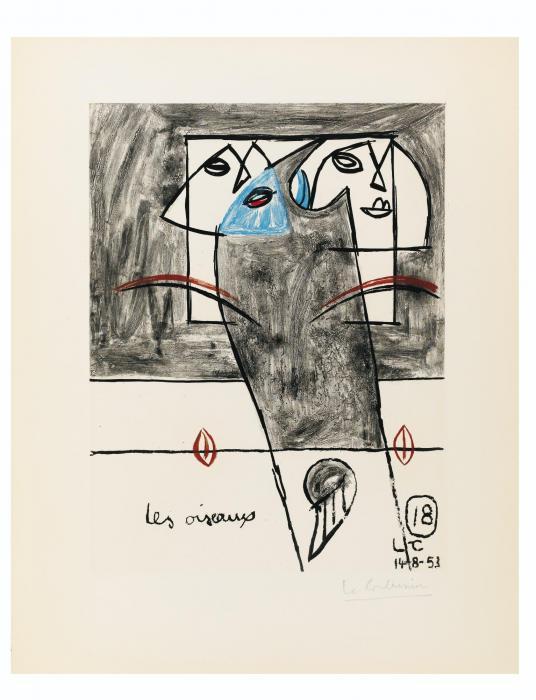 Le Corbusier-Unite, Planche 18-1963
