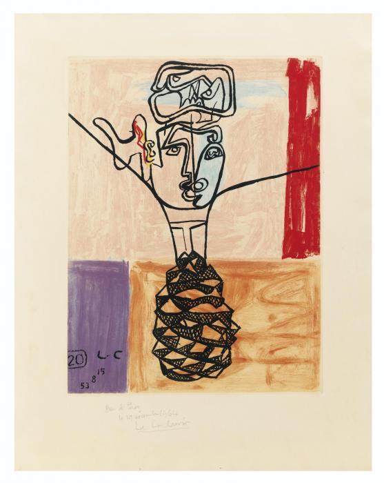 Le Corbusier-Unite, Planche 20-1963