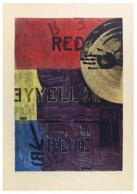 Jasper Johns-Periscope (Ulae 218)-1981