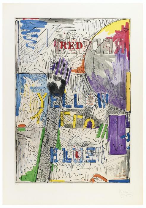 Jasper Johns-Land's End-1979