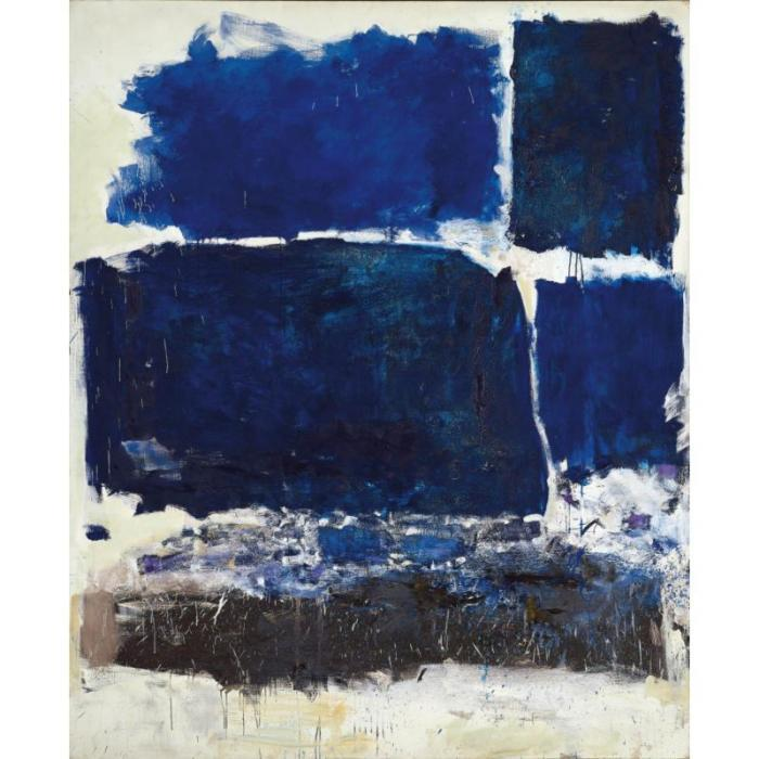 Joan Mitchell-Barge peniche-1975