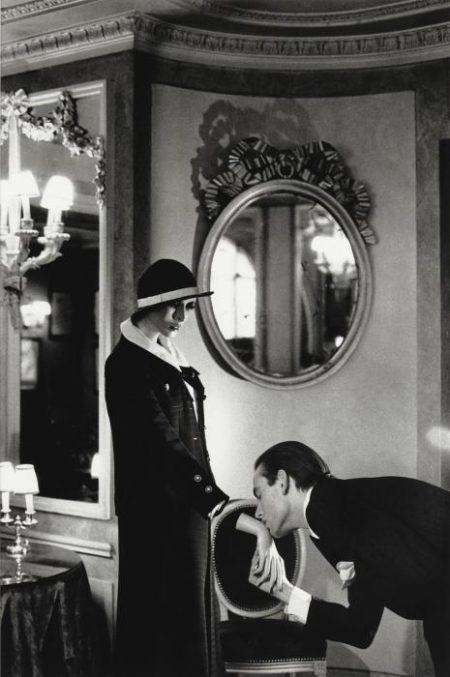 Helmut Newton-At Maxim's, Upstairs, Paris-1978