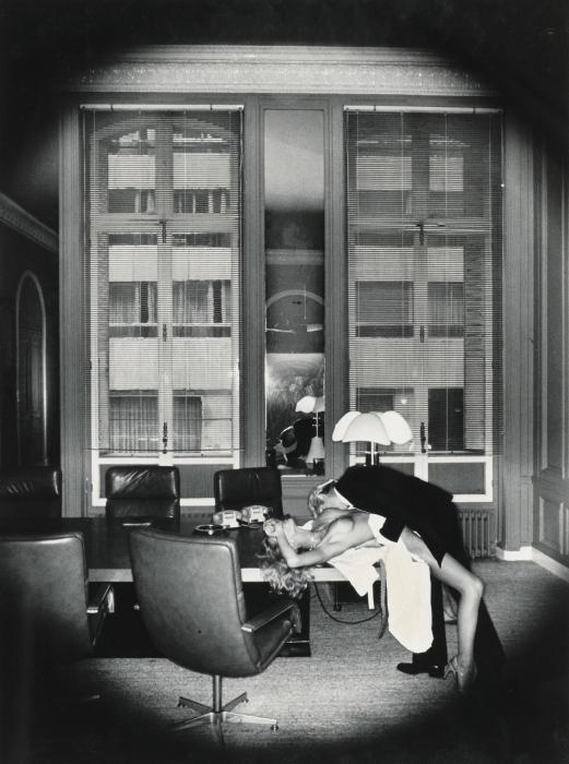 Helmut Newton-Office Love (De Private Property I)-1977