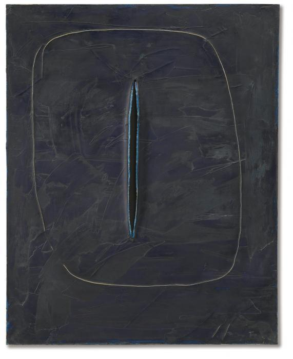 Lucio Fontana-Concetto spaziale, attesa-1961