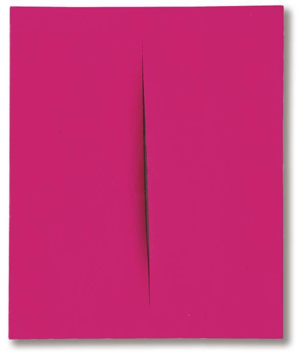 Lucio Fontana-Concetto spaziale, attesa-1964