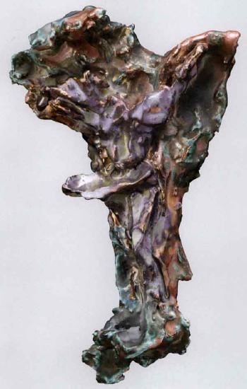 Lucio Fontana-Crocifissione-1955