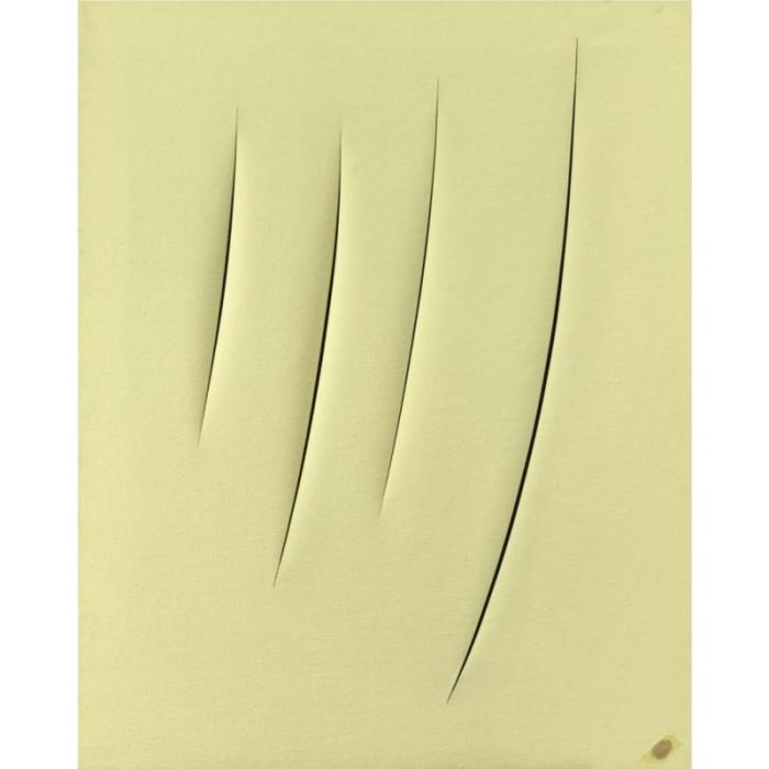 Lucio Fontana-Concetto spaziale, Attese-1958