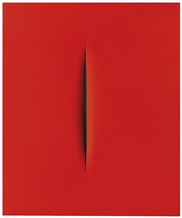Lucio Fontana-Concetto Spaziale, Attesa-1968