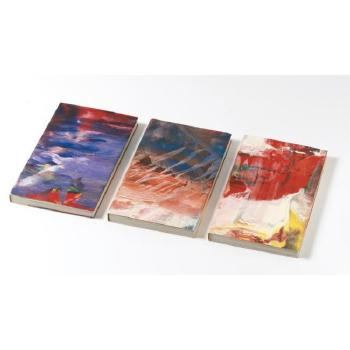 Gerhard Richter-Eis (Ice), Artist Book with Handpainted Cover-1981