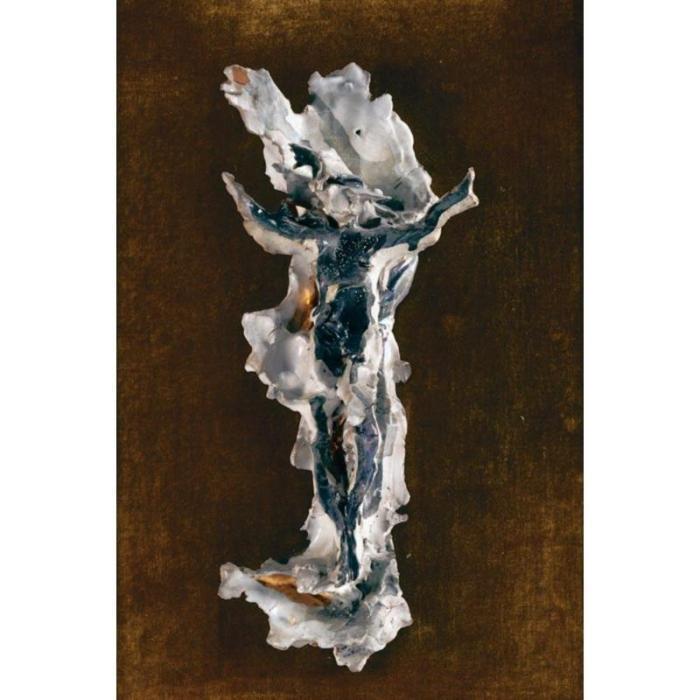Lucio Fontana-Crocifisso-1957
