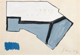 Lucio Fontana-Progetto per soffitto-1959