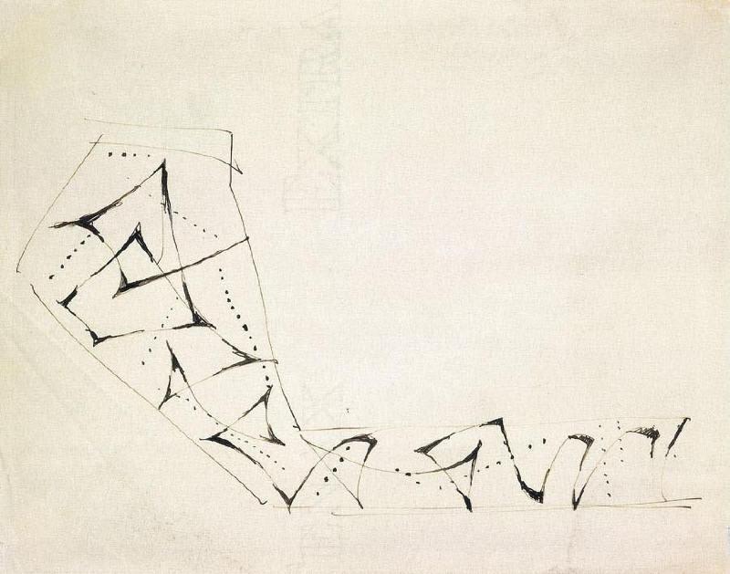Lucio Fontana-Progetto per pavimento a mosaico-1952