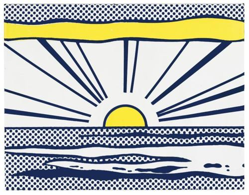 Roy Lichtenstein-Sunrise-1966