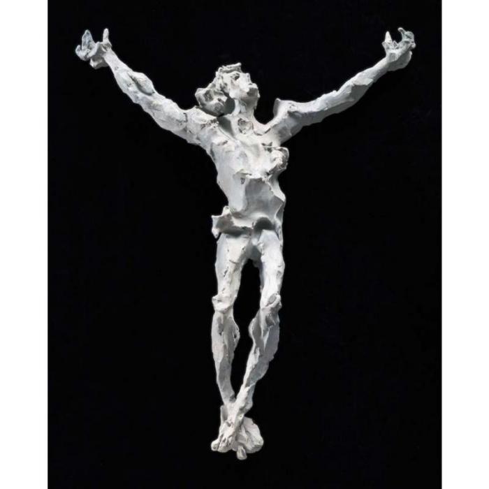 Lucio Fontana-Cristo-1955