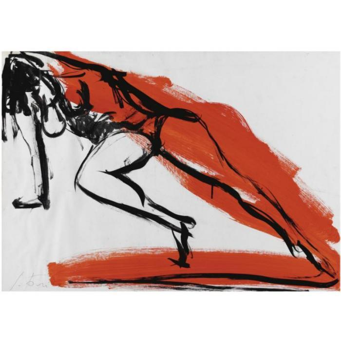 Lucio Fontana-Nudo di donna-1962