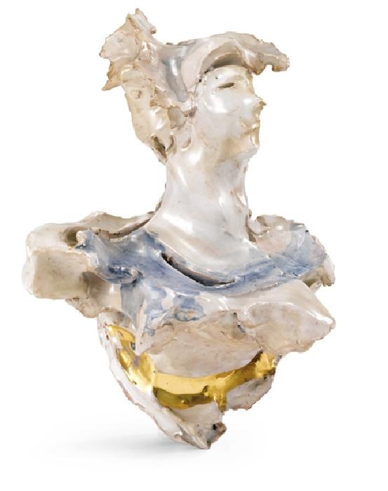 Lucio Fontana-Busto femminile-1955