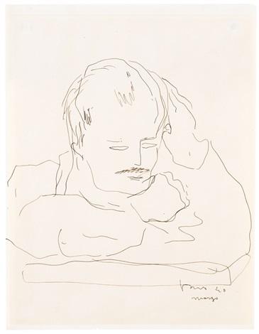 Lucio Fontana-Autoritratto-1940