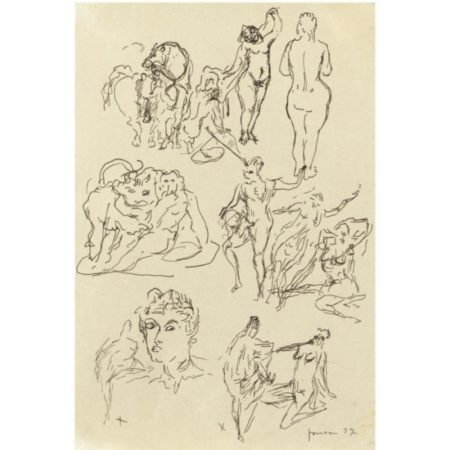 Lucio Fontana-Studi per sculture-1937