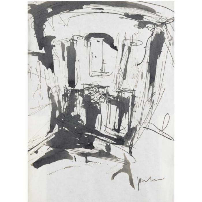Lucio Fontana-Progetto-1955