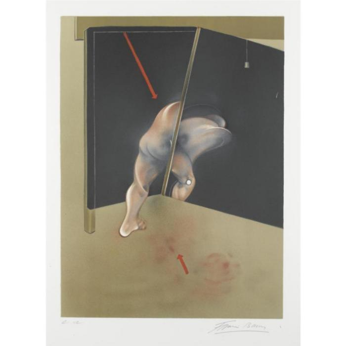 Francis Bacon-Study from the Human Body-1981