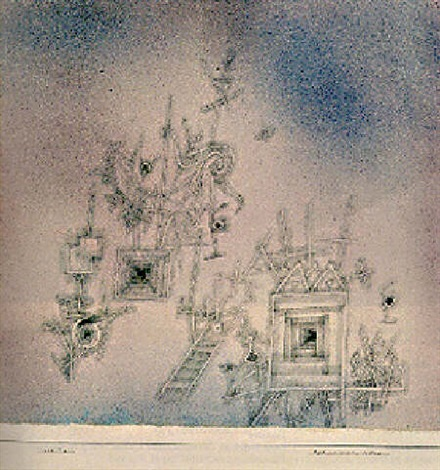 Paul Klee-Barbarisch - Klassisch - Festlich (Barbaric - Classical - Festive)-1926