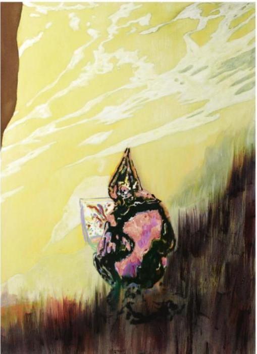 Peter Doig-Figure in Mountain Landscape-1999
