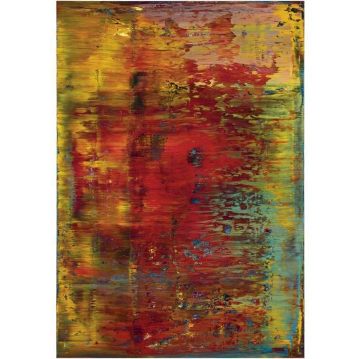 Gerhard Richter-Abstraktes Bild 643-5 (Abstract Painting 643-5)-1987
