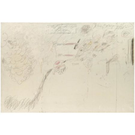 Cy Twombly-The Empire of Flora-1961