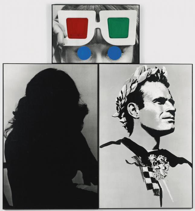 John Baldessari-Stereo Vision-1988