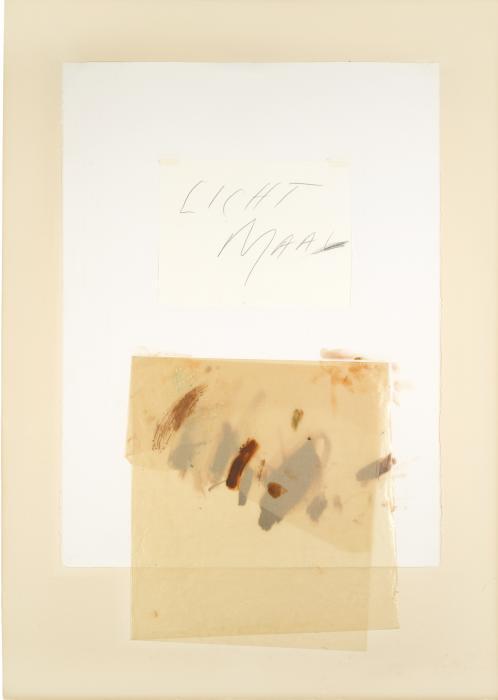 Cy Twombly-Licht Maal III-1976