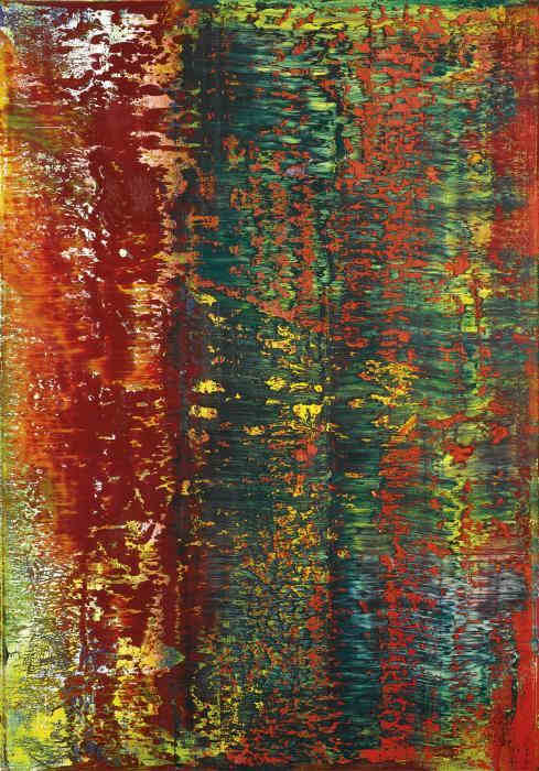 Gerhard Richter-AB Brick Tower (643-1)-1987