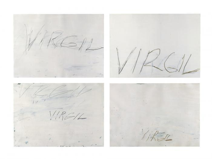 Cy Twombly-Virgil-1973