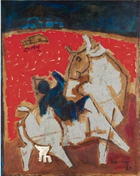 Maqbool Fida Husain-Untitled-1969