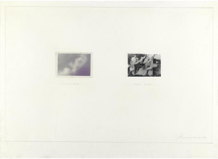 John Baldessari-This Cloud that Fire-1974