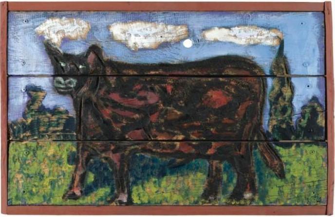 Peter Doig-Bull Cow-1988