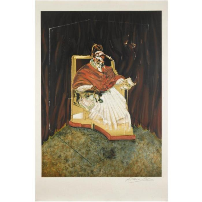 Francis Bacon-Study for a Portrait of Pope Innocent X-1989