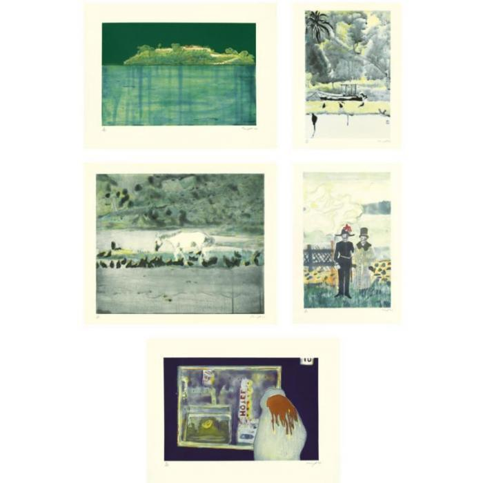 Peter Doig-Carrera; Grand Riviere; Grand Riviere II; Guest House; House Of Pictures-2002