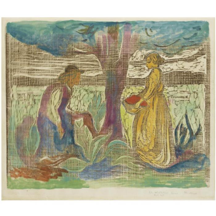 Edvard Munch-Fertility (W. 160; Sch. 110)-1900
