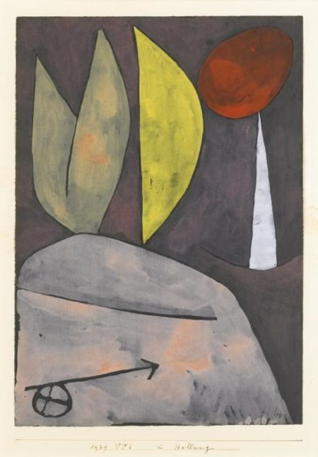 Paul Klee-In Stellung (In Position)-1939