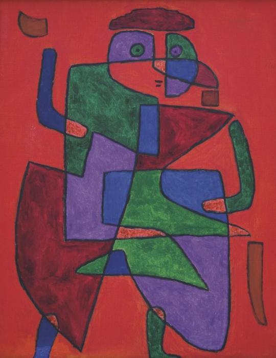 Paul Klee-Der Kunftige (The Man Of The Future)-1933