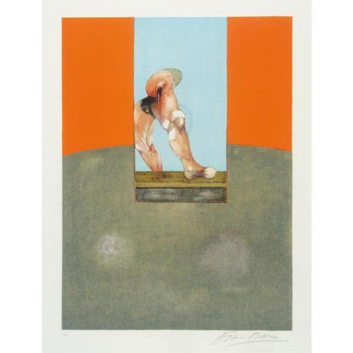 Francis Bacon-Study for a Bullfight Center Panel-1987