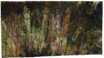 Paul Klee-Das Schloss (The Castle)-1913