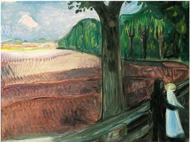 Edvard Munch-Hofsalleen-1917