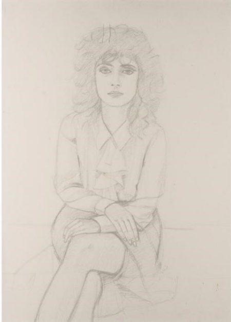 Alex Katz-Barbara-1971