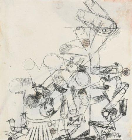Paul Klee-Ohne Ttitel (Untitled)-1914