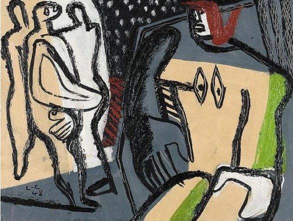 Le Corbusier-Personnages-1948