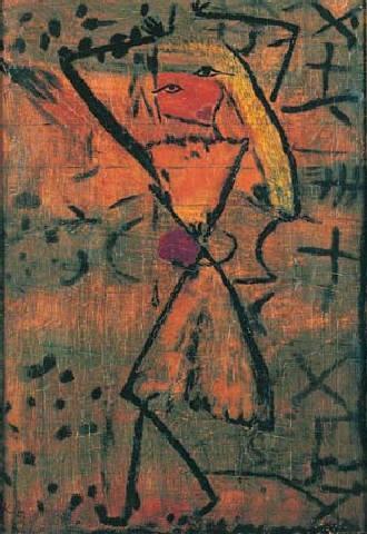 Paul Klee-Tanzerin, Elevin (Dancer, Elevin)-1930