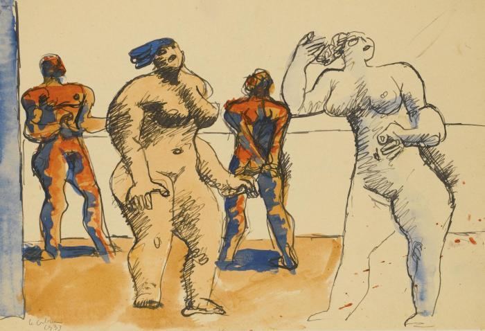 Le Corbusier-Quatre personnages-1933
