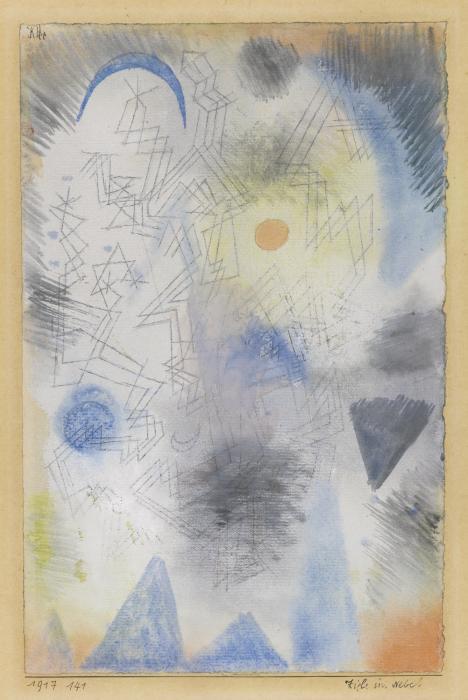 Paul Klee-Ziele Im Nebel (Targets In The Fog)-1917