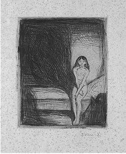 Edvard Munch-Bei Nacht (s.164; Willoch 79)-1902